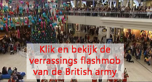 British army flashmob