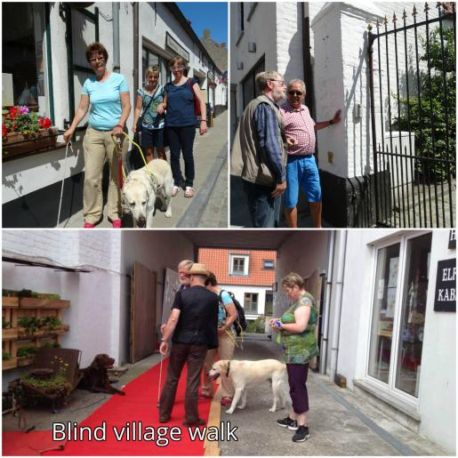 blind village walk
